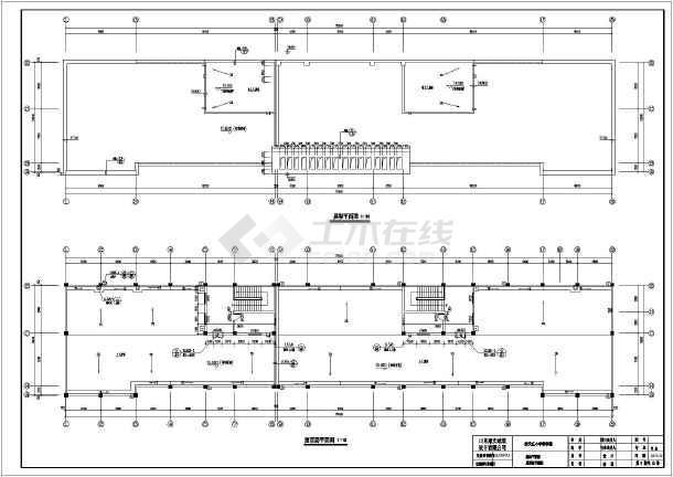 小学学校教学楼建筑全套设计图纸(含建筑,结构,电气.水)