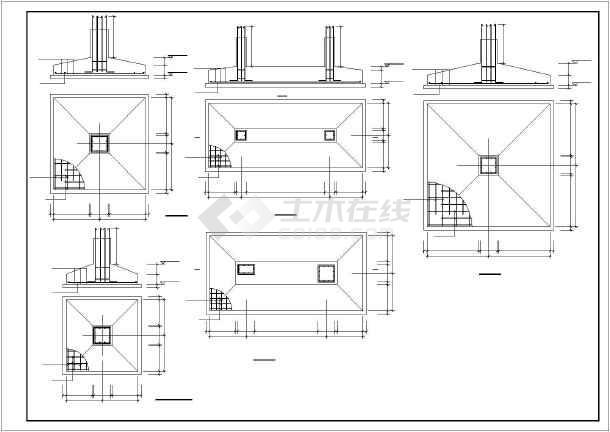 郑州市三层框架结构幼儿园结构施工图