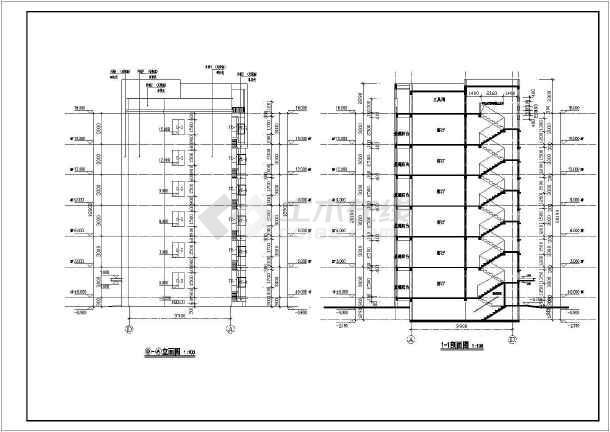甲级设计院六层砖混建筑结构住宅结构施工图_cad图纸