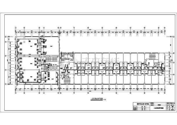 图纸 暖通设计图 中央空调 酒店宾馆空调设计图 25层综合酒店风机盘管