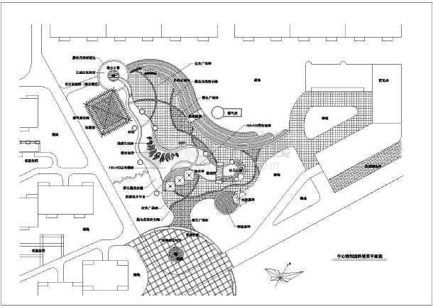 园林景观工程硬质道路铺装设计合集