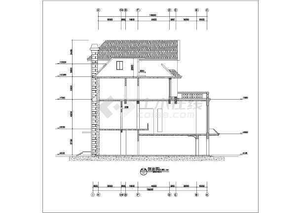 欧式别墅外观设计_欧式图纸外观设计cad图纸2010cad卡住别墅打开图片