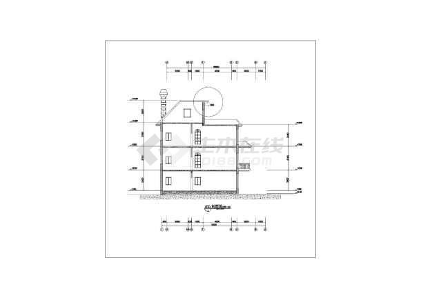 欧式图纸外观设计_欧式别墅外观设计cad学园图纸别墅2崩坏图片