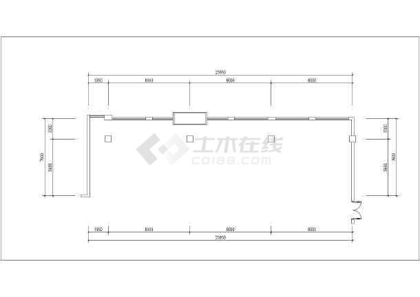 重庆某保险公司办公室室内装修设计施工图