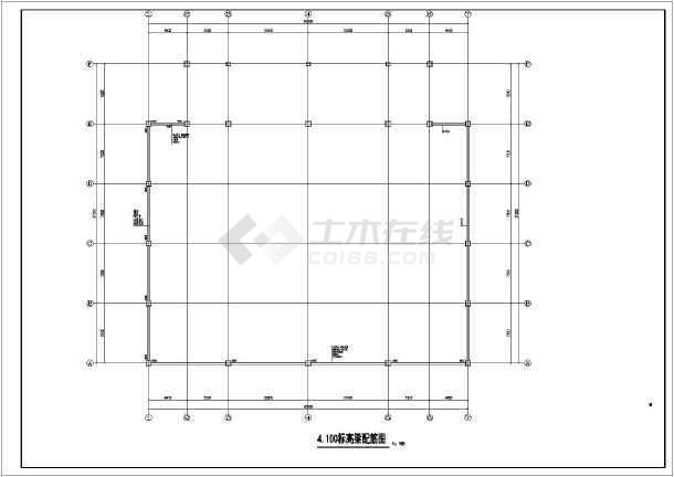 重庆某钢结构体育馆桁架结构全套施工图