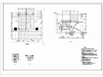 各式各样钢结构楼梯结构施工图数十种