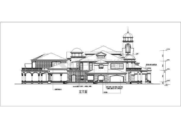 豪华别墅外观造型