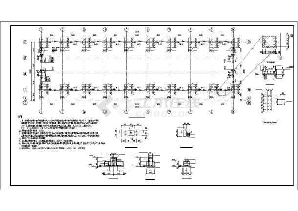 长沙钢结构门式刚架结构全套施工图