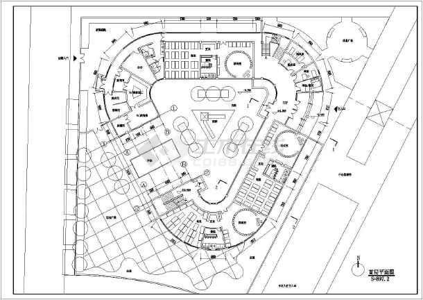 徐州某小区幼儿园建筑方案设计图纸