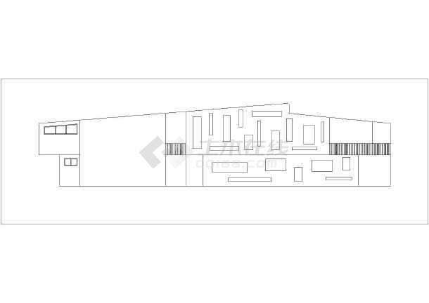 建筑图纸  土木工程毕业设计  房屋建筑学课程设计  某地区6班幼儿园