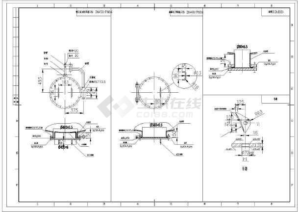 设备 电厂 混床 整套 图纸 dn1800/某电厂DN1800混床设备整套图纸/图5