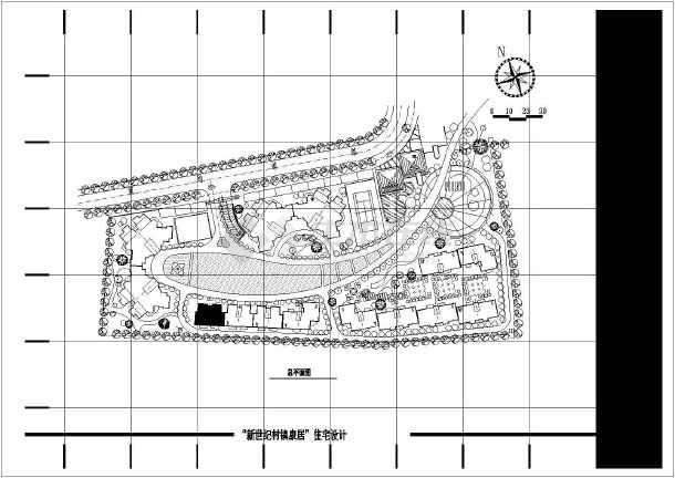 【靖江】新世纪村镇康居住宅设计施工图