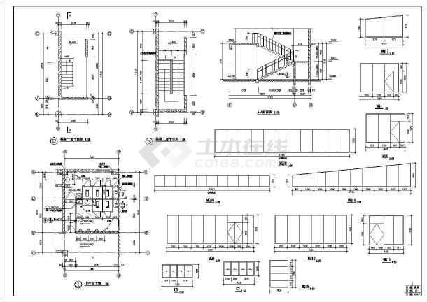 某地小超市建筑施工图(含v超市说明)关于平面设计的课程视频图片