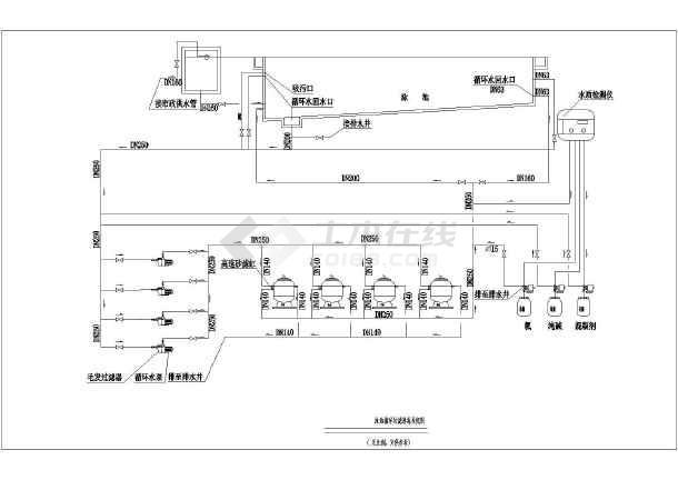 鱼池过滤管道设计图,钻设计图,鱼池管道设计图 第20页 大山谷图库