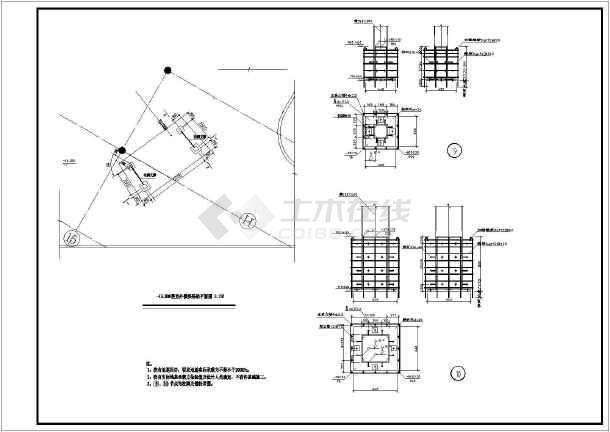 【樓梯結構設計】某廠房室外弧形鋼樓梯結構設計施工