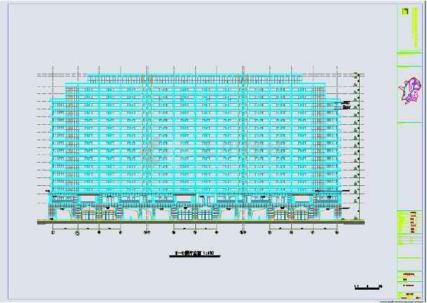 千岛湖17层度假公寓建筑设计施工图