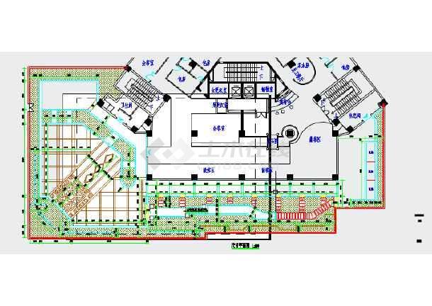 茶楼设计平面图方案-茶室 平面图_茶室快题设计_茶室_