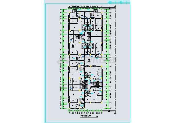 住楼建筑给排水施工图图片