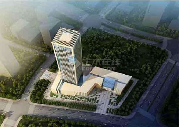 【内蒙古】35层框剪结构办公楼建筑设计方案文本