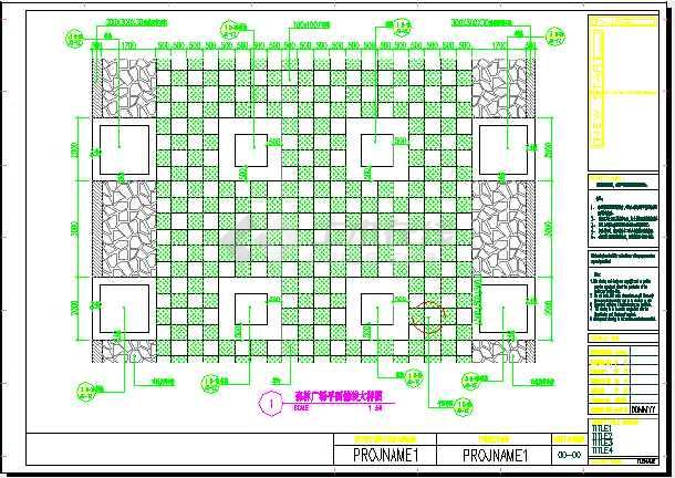 西安雁引公园园林景观规划设计施工图