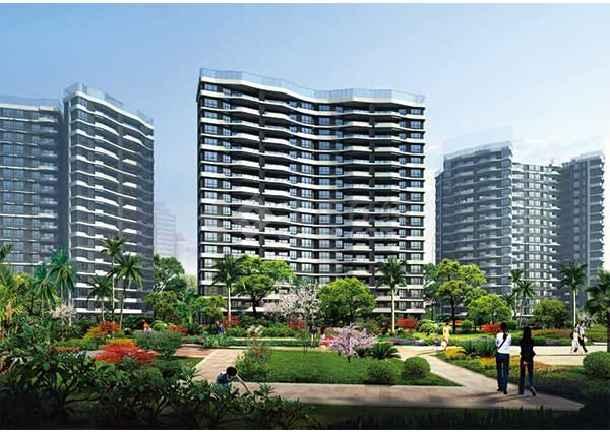 建筑设计:本工程主体为住宅楼,采用现代临海建筑风格,建筑立面造型力