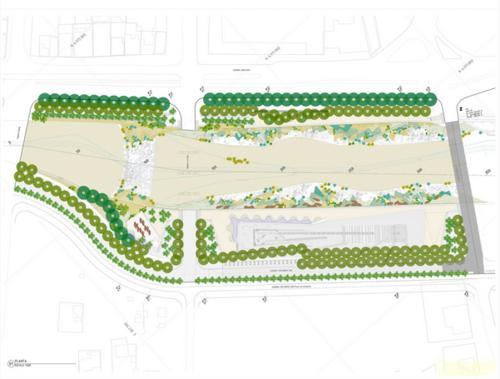 智利科皮亚波市kaukari城市公园景观设计