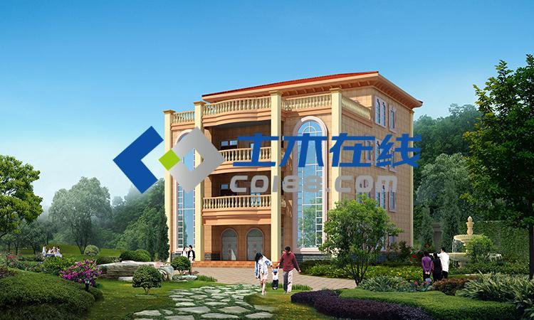 地661平方米五层框架结构别墅设计图购买 土木在线图片