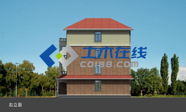 农村自建房盖房图纸三层半别墅设计图纸