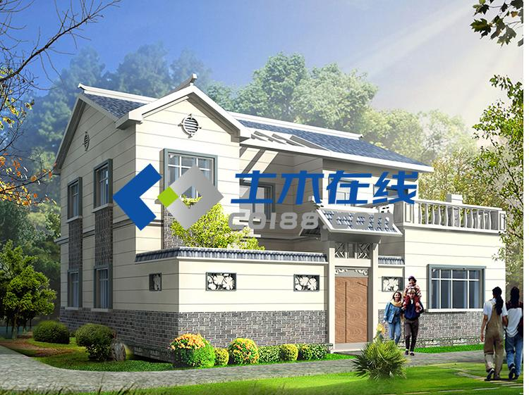 农村二层房屋设计一层平面图图片