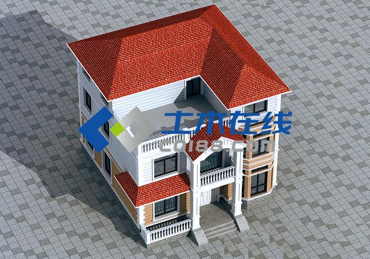 广东湛江农村自建别墅工程全套施工图带效果图