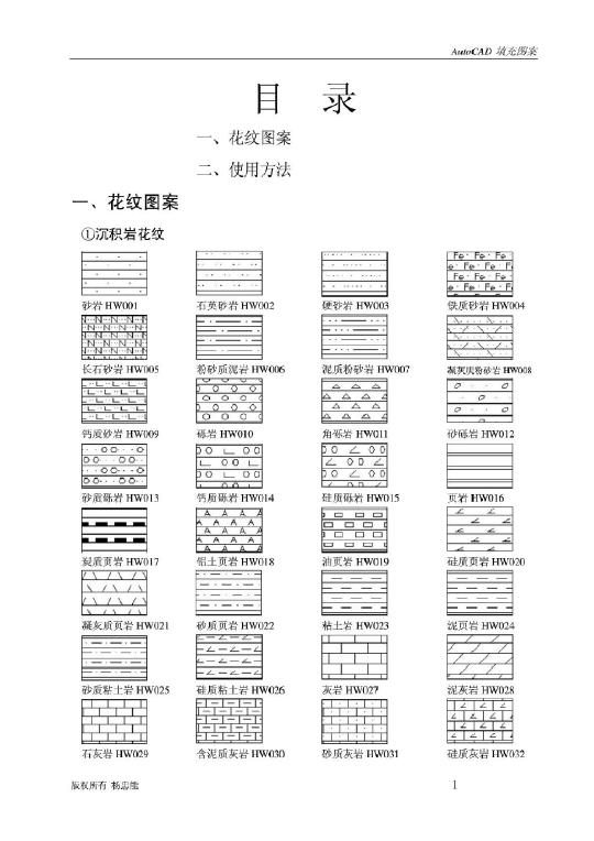 CAD不了图案及使用方法_文档下载cad怎么中文字v图案填充图片