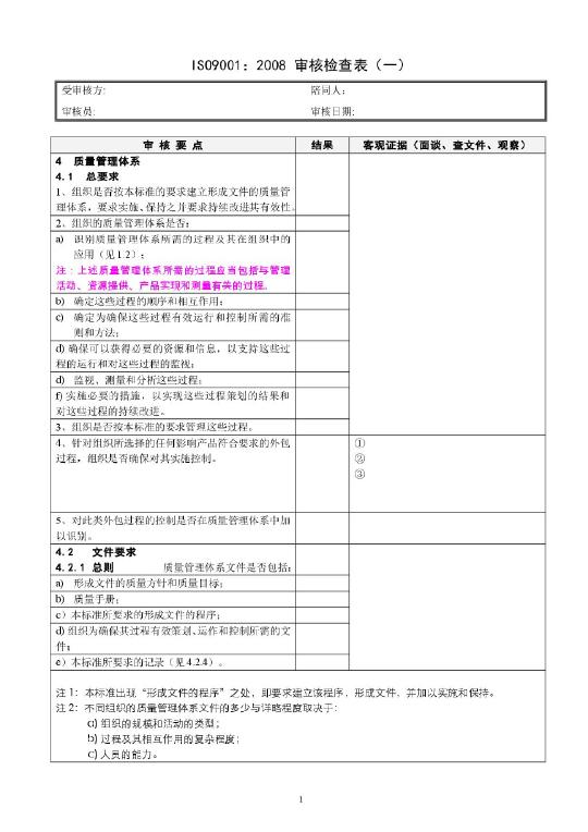 【iso9001,2015管理评审】