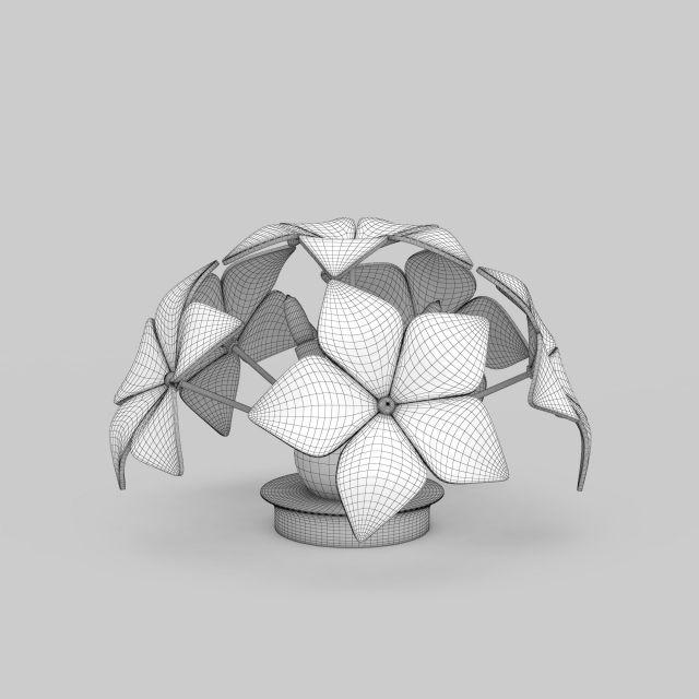创意台灯3d模型下载-图3