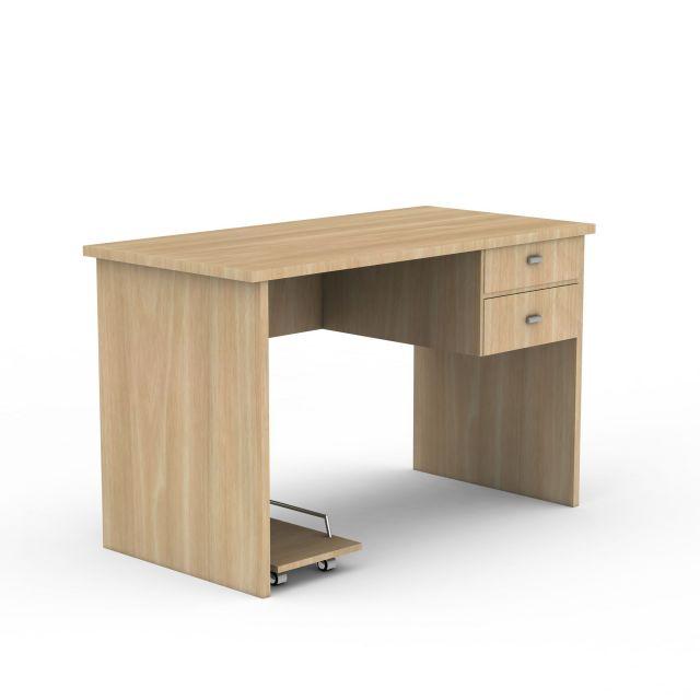 现代简易电脑桌3d模型下载