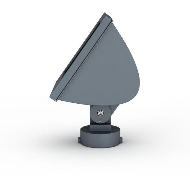 方形大方实用款led射灯3D模型-图3