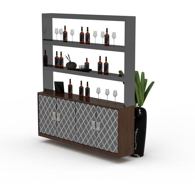 展示柜3d模型下载 - 展示柜素材,模型下载 - 土木在线