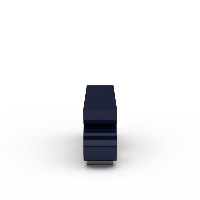现代创意圆形柜子3D模型下载-图3