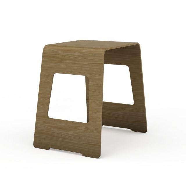 木质凳3d模型下载