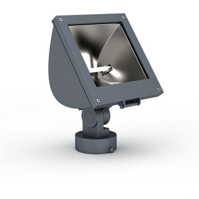 方形大方实用款led射灯3D模型-图1