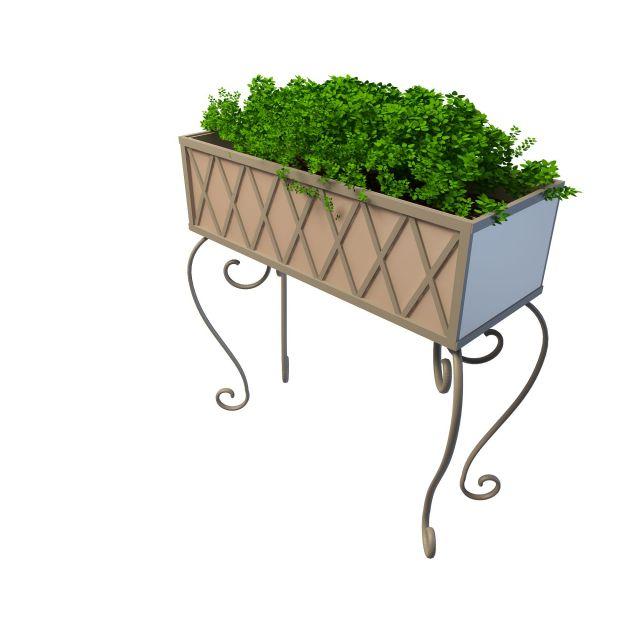 园林小品3d模型下载-图2