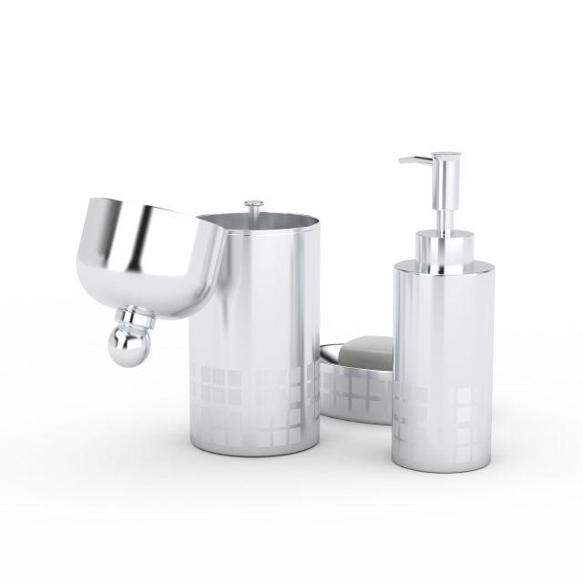 卫浴用品3D模型下载-图1