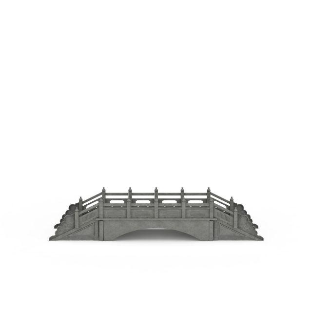 古桥3d模型下载 - 古桥素材,模型下载 - 土木在线