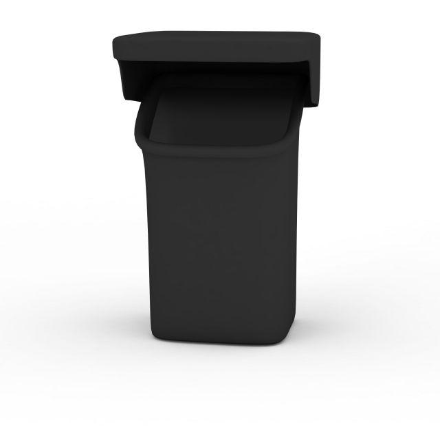 塑料垃圾桶3d模型下载