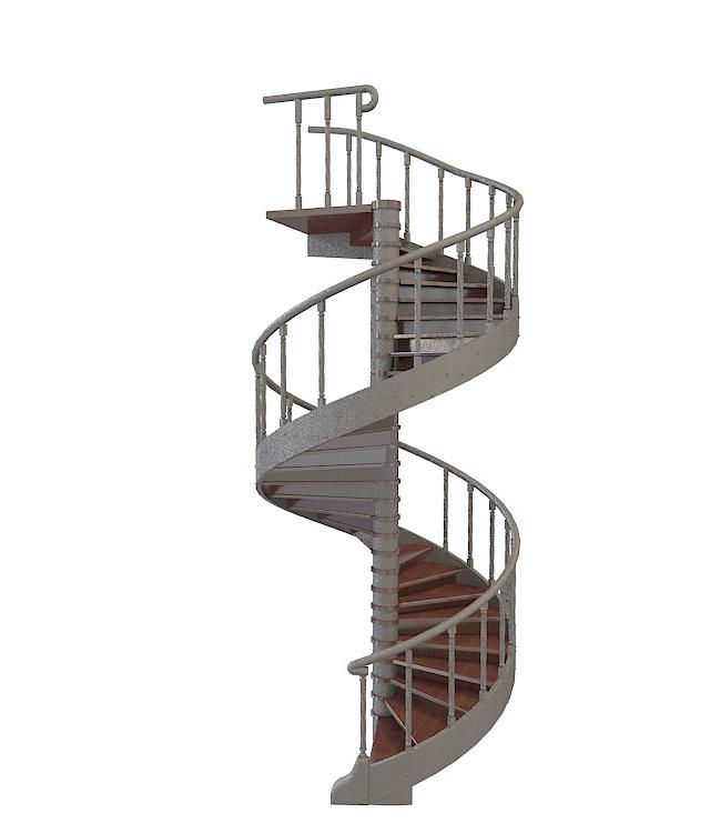 旋转楼梯3d模型下载 - 旋转楼梯素材,模型下载 - 土木