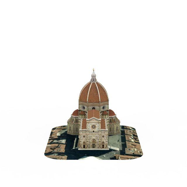 欧式城堡建筑3d模型下载-图2