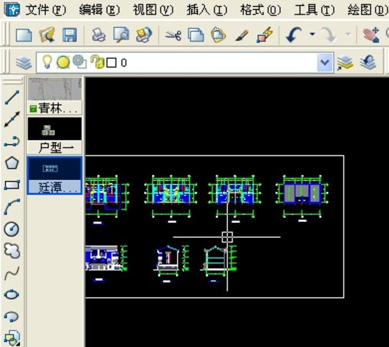 DocBarCAD多窗口标签切换CAD的epsPS转图片