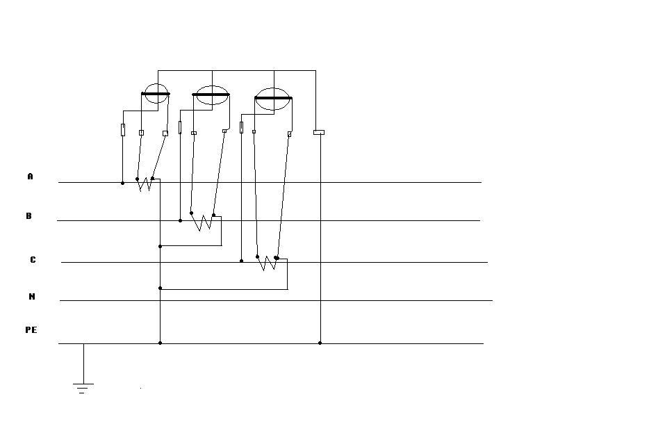 电表互感器接线图