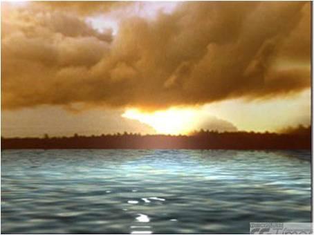 3dmax教程--海面制作