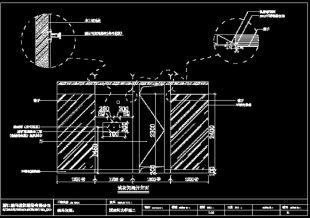 扫描图纸转换成CAD图2014天正给排水2007cad图片