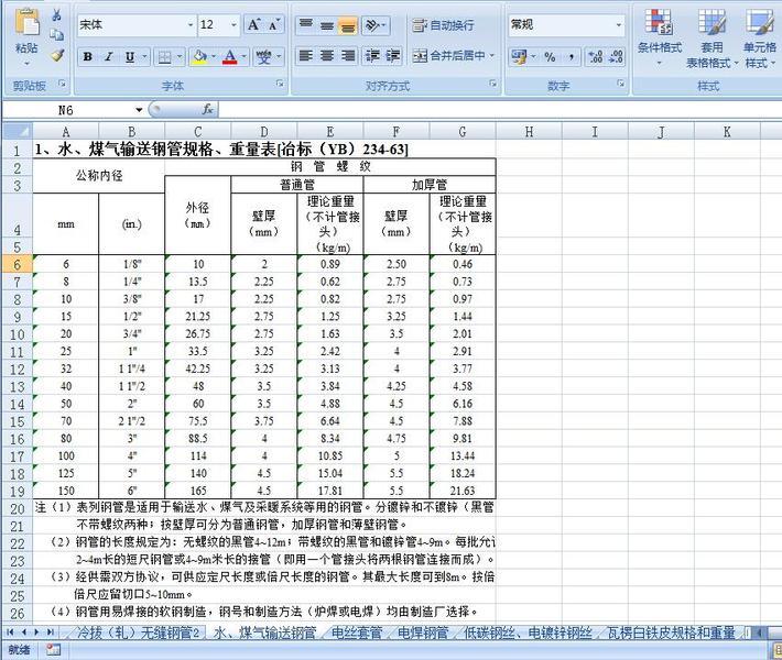 土木工程五金计算手册表格图片